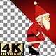 Santa Claus Comic Walking Going - VideoHive Item for Sale