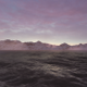 Pink Fog Mountains And Oceans - VideoHive Item for Sale