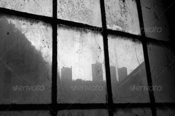 Dirty city - Stock Photo - Images