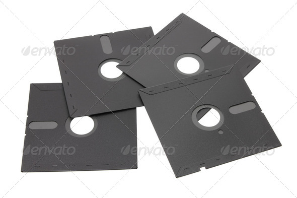 Floppy Disks - Stock Photo - Images