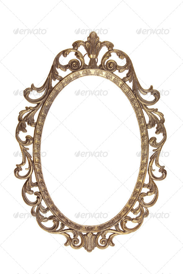 Vintage Picture Frame - Stock Photo - Images