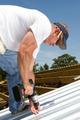 Roofer Fastening Metal Roof - PhotoDune Item for Sale