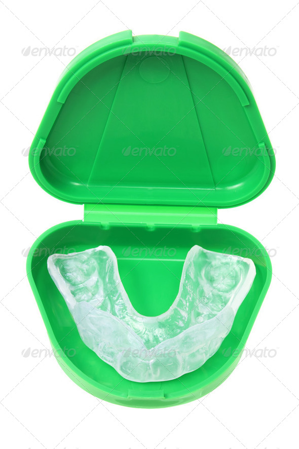 Mouth Guard - Stock Photo - Images