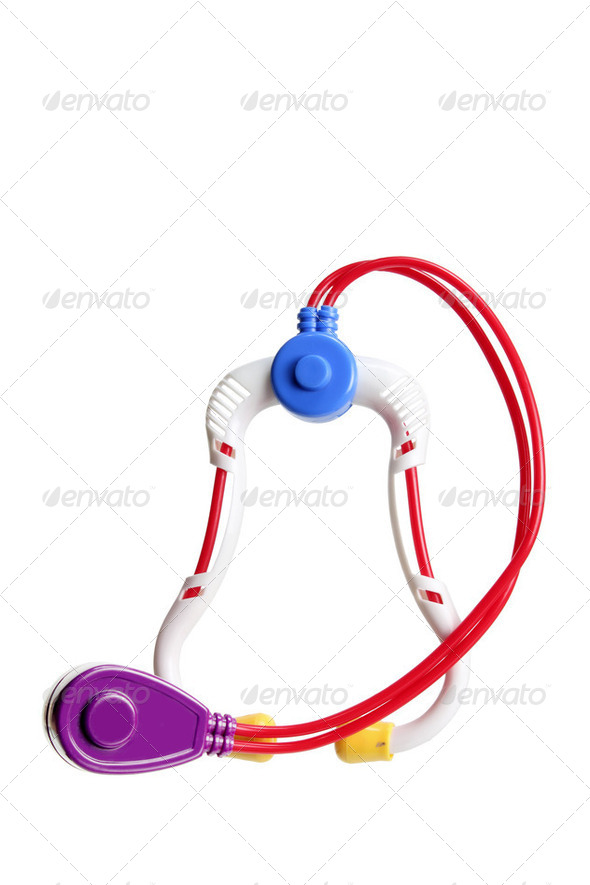 Toy Stethoscope - Stock Photo - Images