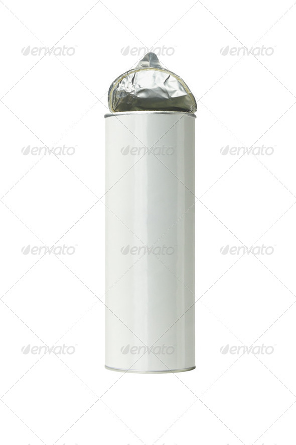 Potato Chips Container - Stock Photo - Images