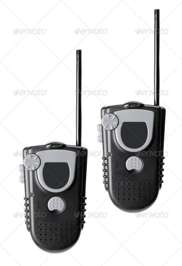 Toy Walkie Talkie - Stock Photo - Images