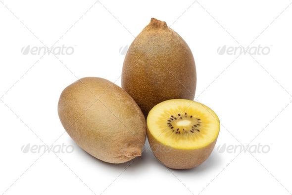 Yellow kiwi fruit - Stock Photo - Images