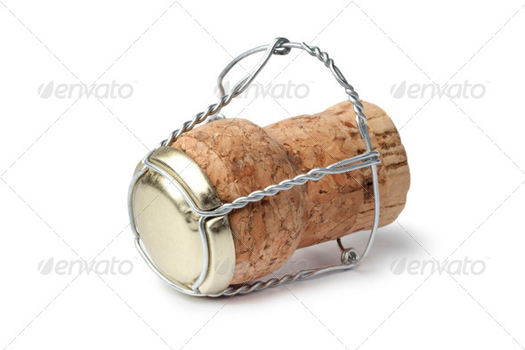Champagne cork - Stock Photo - Images