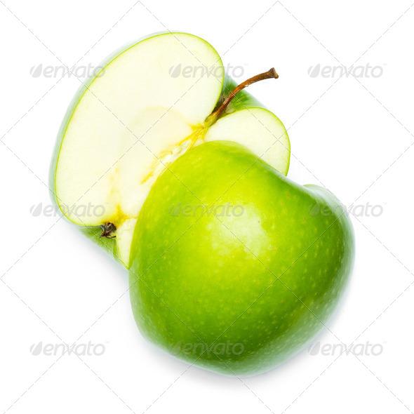 Fresh green apple - Stock Photo - Images