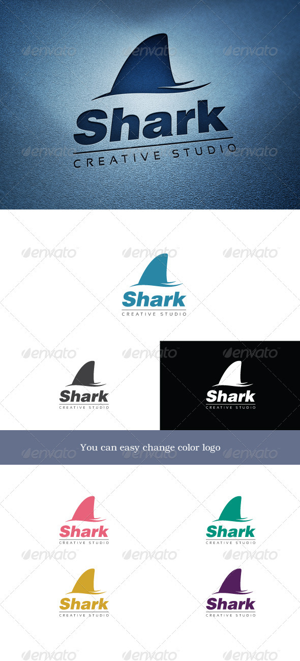 Shark - Animals Logo Templates