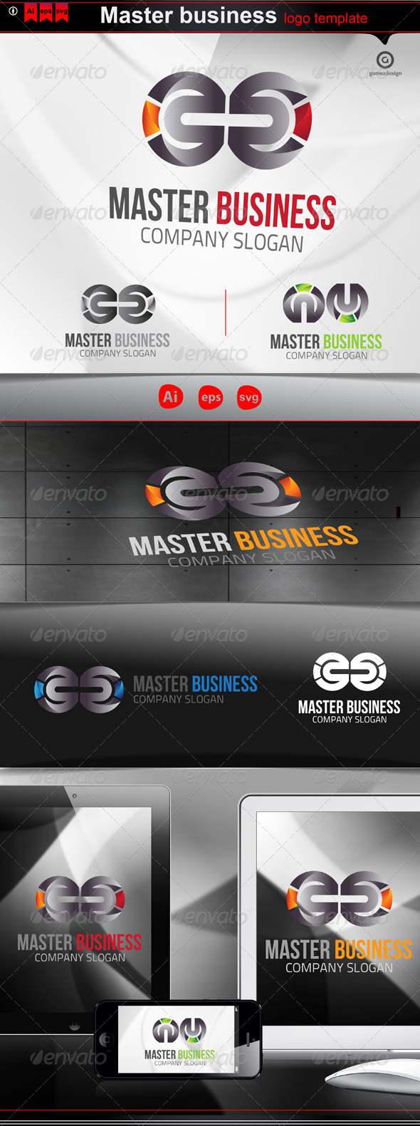 Master business - Logo Templates