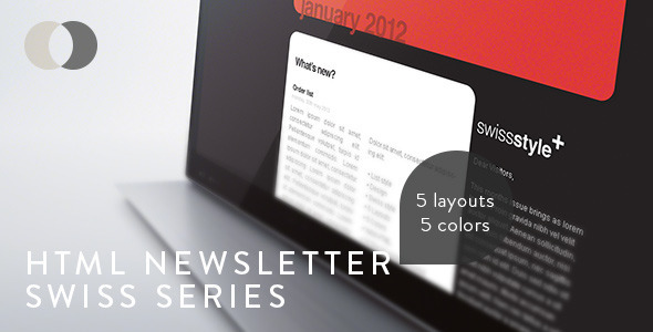 HTML Newsletter - Swiss Series