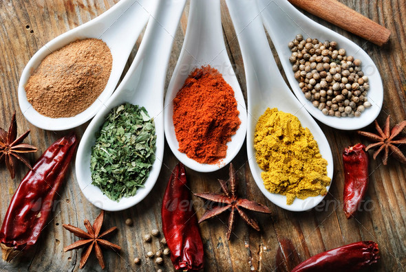 Spices - Stock Photo - Images