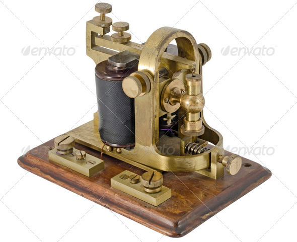 Morse Receiver  - Stock Photo - Images