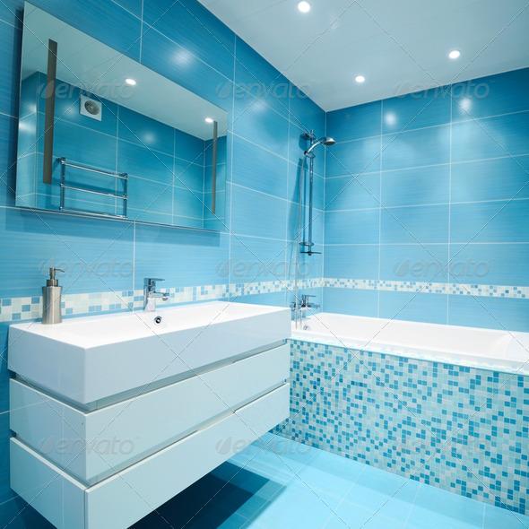 Bathroom interior - Stock Photo - Images