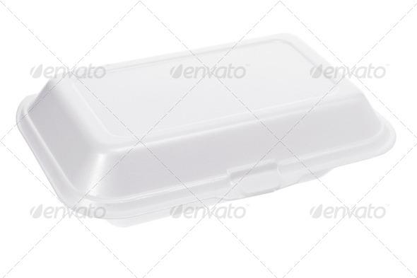 Styrofoam Box - Stock Photo - Images