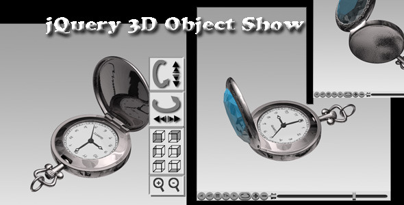 jQuery 3D Object Show - CodeCanyon Item for Sale