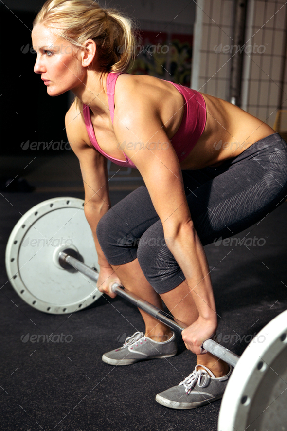 Female Fitness Workout - Stock Photo - Images