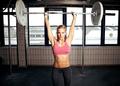 Shoulder Press Fitness Exercise - PhotoDune Item for Sale