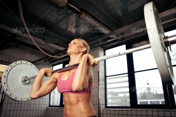Strong Bodybuilding Female - Stock Photo - Images