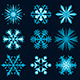 Christmas Snowflakes Collection - GraphicRiver Item for Sale