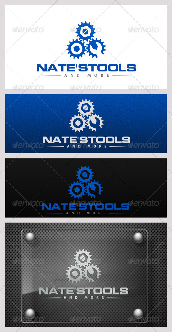 Nate's Tools - Objects Logo Templates
