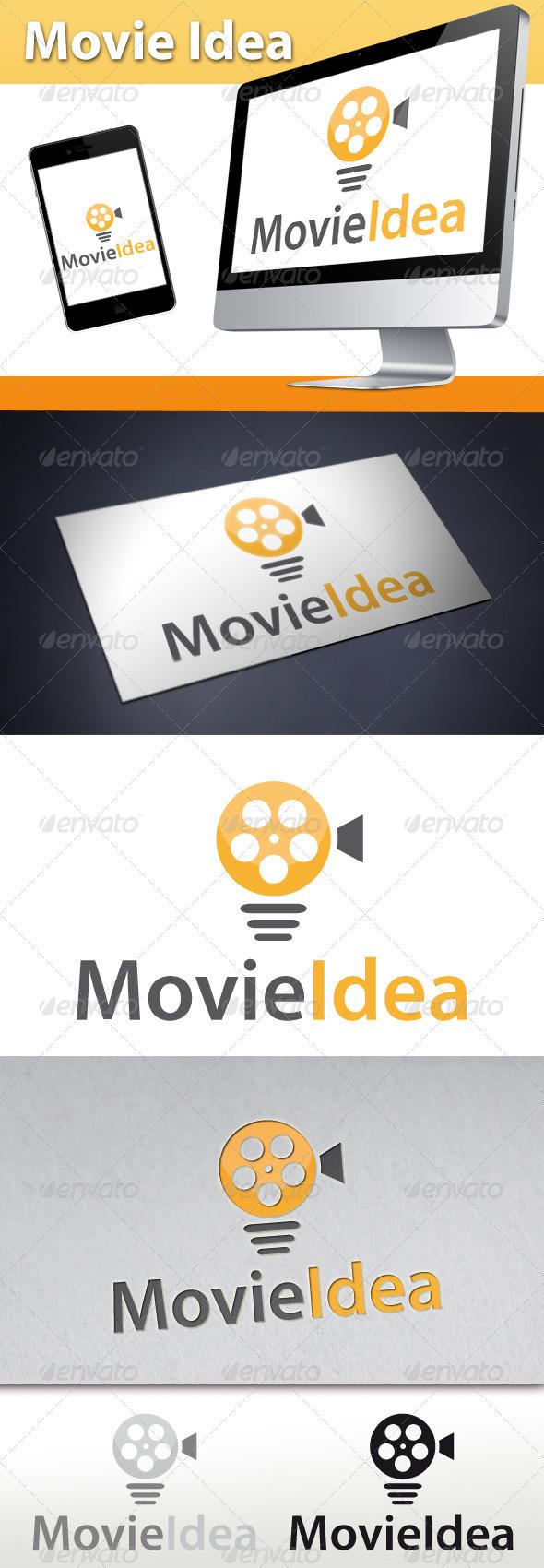 Movie Idea Logo - Symbols Logo Templates