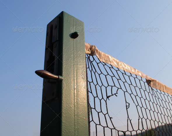 Tennis Net - Stock Photo - Images