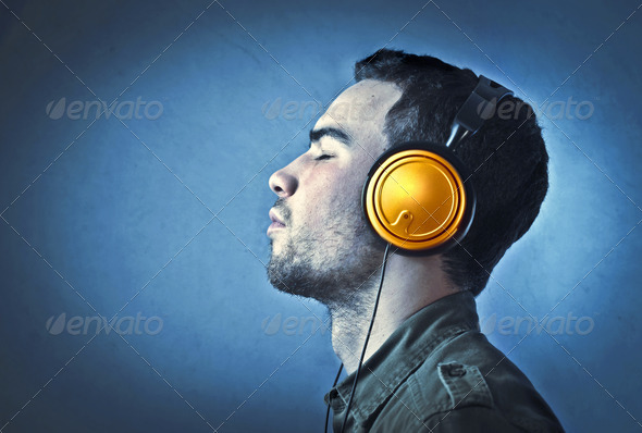 Music Profile - Stock Photo - Images