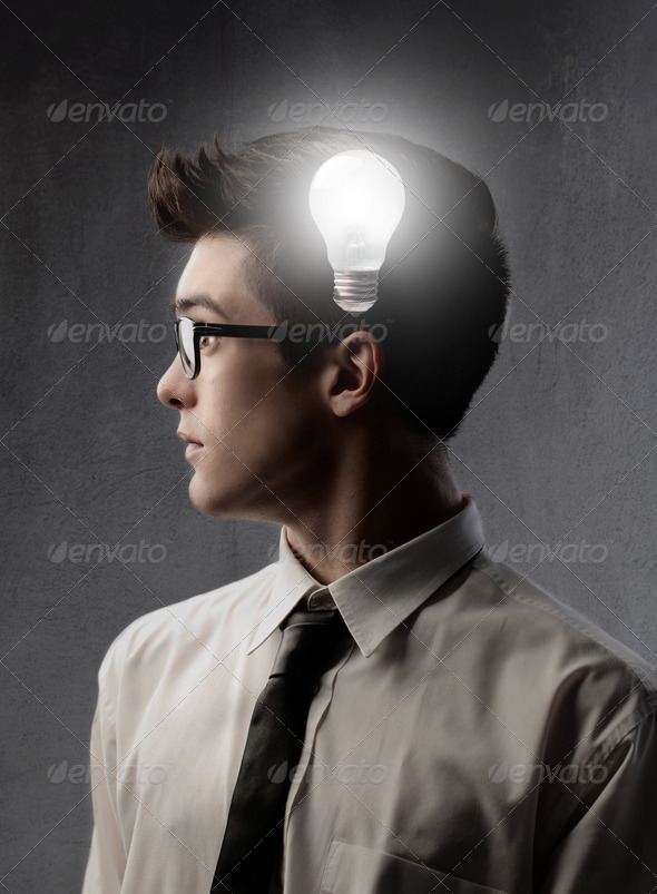 Young Idea - Stock Photo - Images