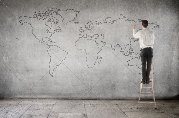 World Map - Stock Photo - Images