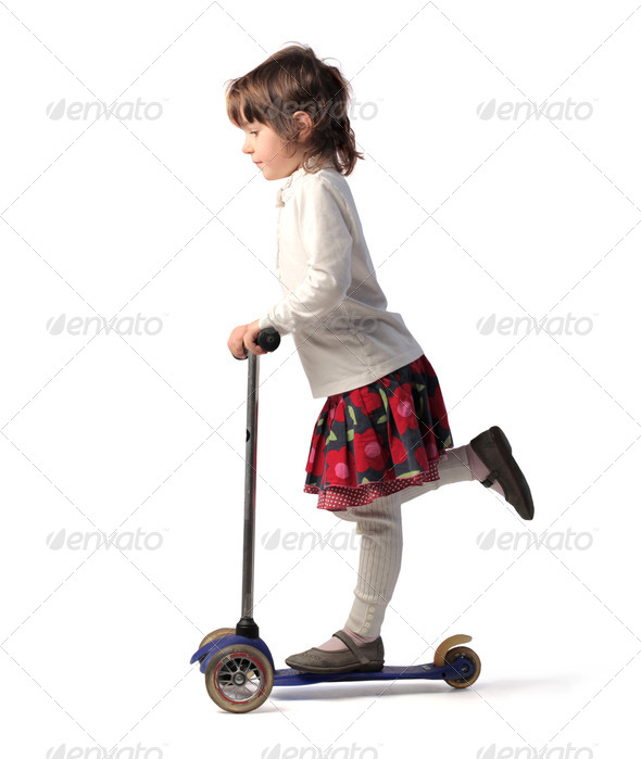 Scooter - Stock Photo - Images