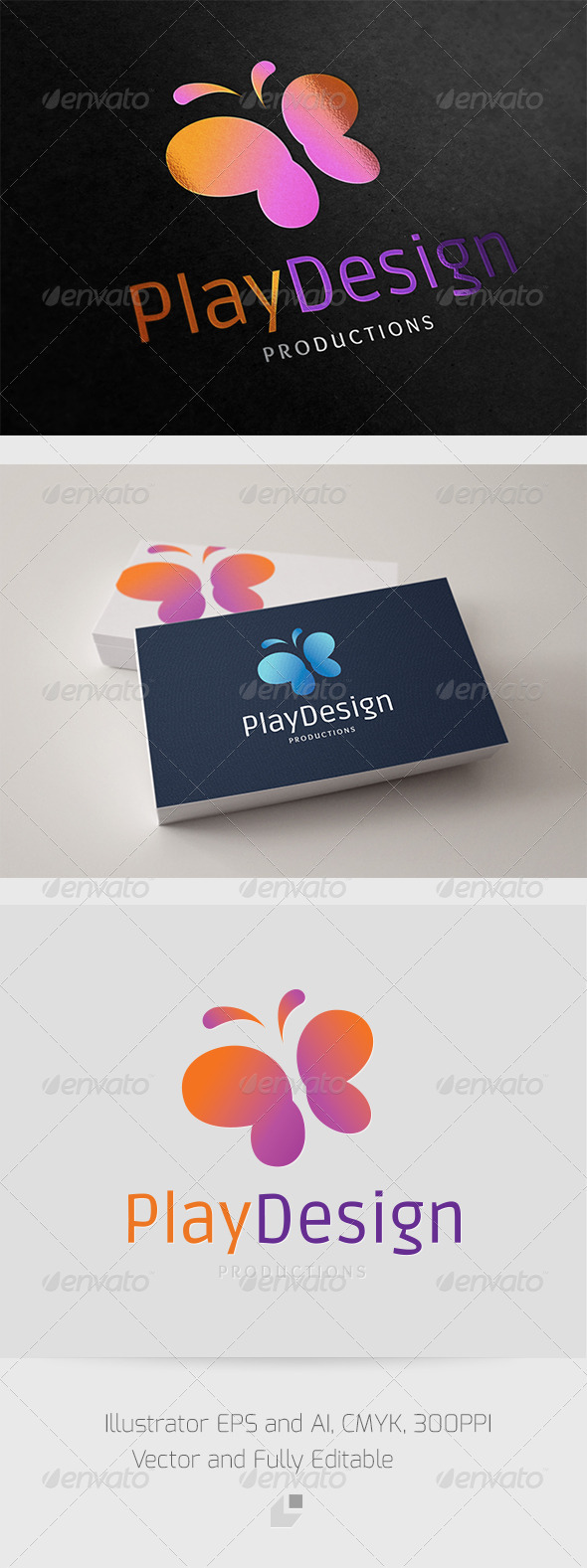 Play Design Logo - Animals Logo Templates