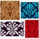 Damask Pattern Set - GraphicRiver Item for Sale