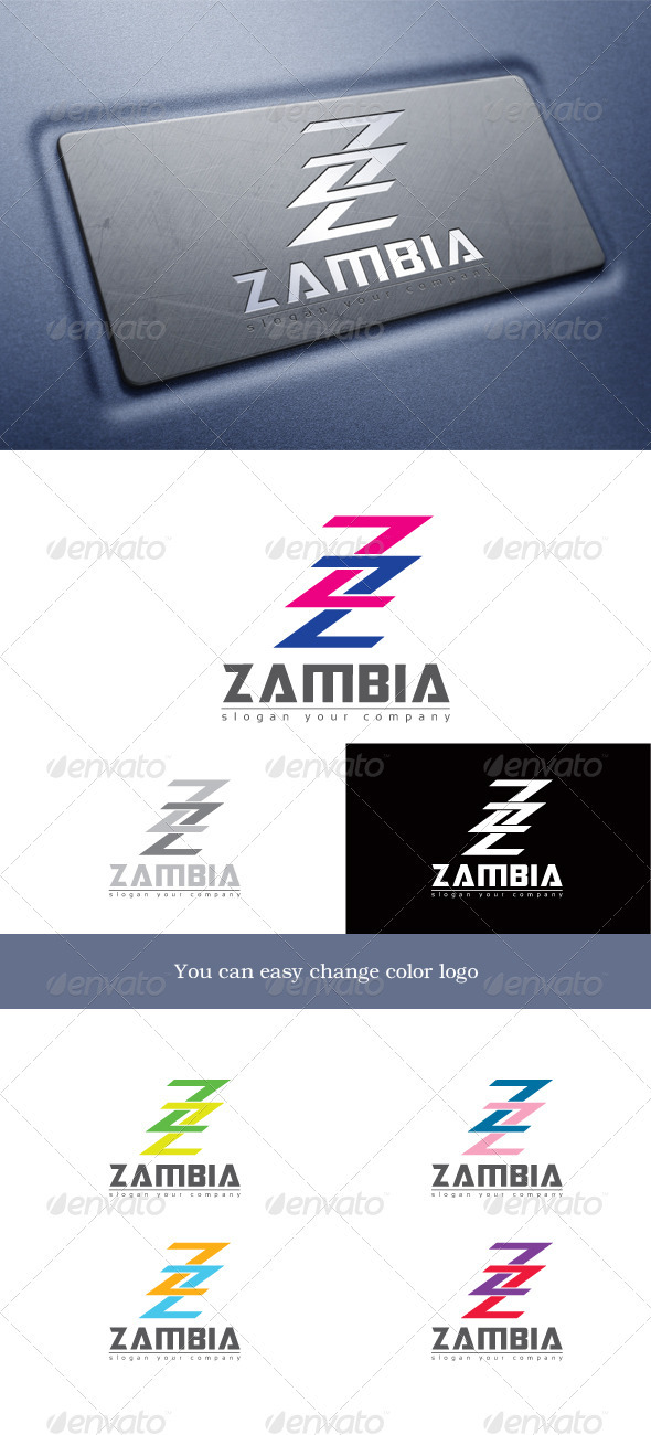 Zigzag - Letters Logo Templates