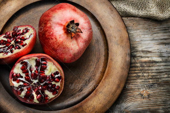 Pomegranate - Stock Photo - Images