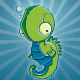 4 Vector Seahorses - GraphicRiver Item for Sale