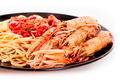 Linguine with scampi - PhotoDune Item for Sale