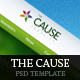 The Cause - Multipurpose Non-Profit PSD Template Nulled