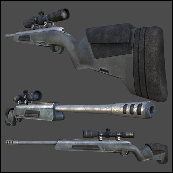 Steyr Scout Tactical Elite  - 3DOcean Item for Sale