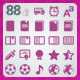 88 AI and PSD Education Icons - GraphicRiver Item for Sale