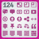 124 AI and PSD Layout Icons - GraphicRiver Item for Sale