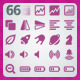 66 AI and PSD Multimedia Icons - GraphicRiver Item for Sale