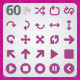 60 AI and PSD Player Icons - GraphicRiver Item for Sale