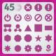 45 AI and PSD Symbols Icons - GraphicRiver Item for Sale