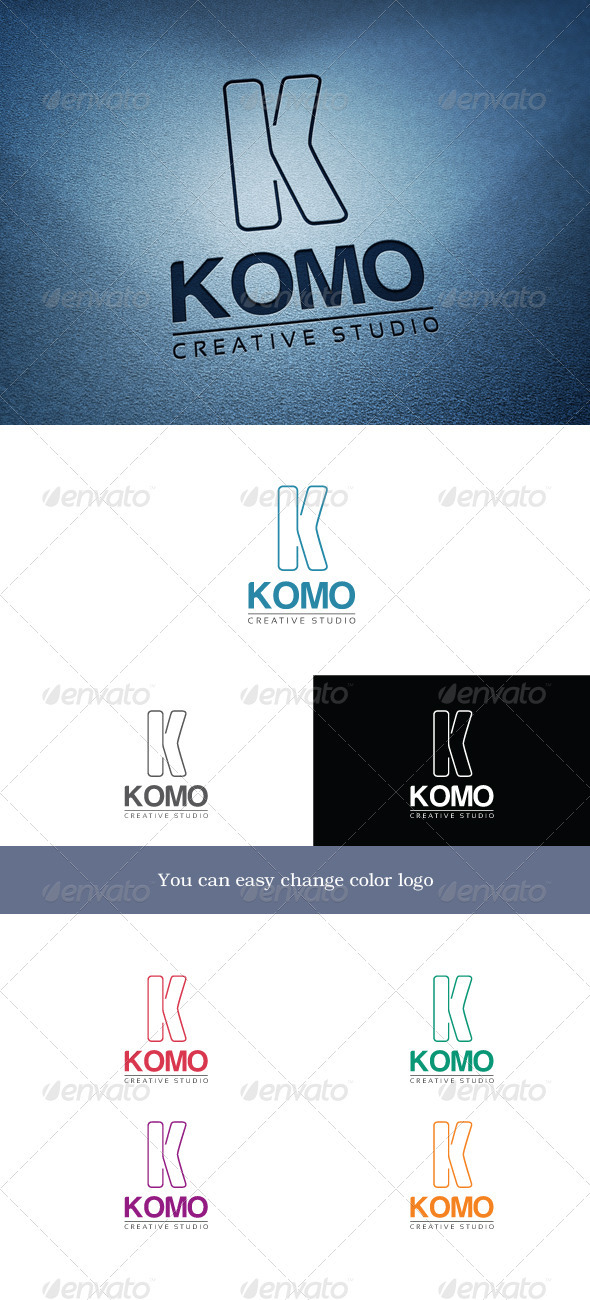 Komo - Letters Logo Templates