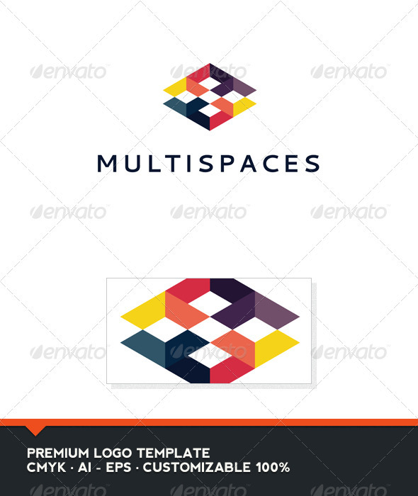 Multispaces Logo Template - Abstract Logo Templates