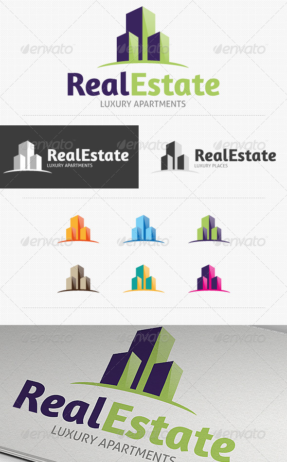 Real Estate Logo by HollyMolly | GraphicRiver