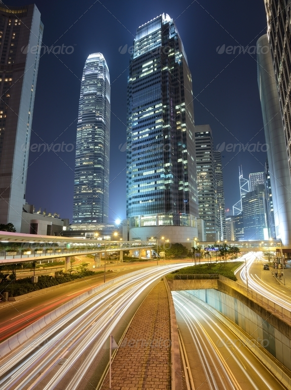 Hong Kong IFC - Stock Photo - Images