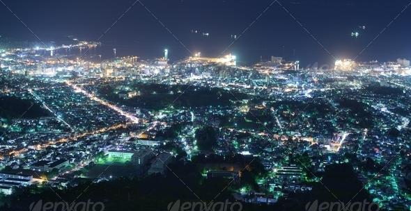 Otaru Skyline - Stock Photo - Images